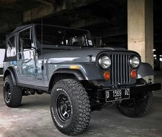 The goal - Except for the metal doors! Cj Jeep, Jeep Wrangler, Jeep Willys, Jeep Mods, Mahindra Thar Jeep, Jeep Hacks, Jeep Photos, Jeep Images, Jeep Scrambler