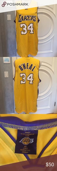 Shaquille O'Neal's Retirement Jersey This was a promo item passed out at the Shaquille O'Neal retirement game. Never worn or used. Great collectors item for a big Lakers fan. Other