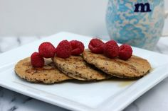 Quinoa Coconut Pancakes by Me and My Pink Mixer