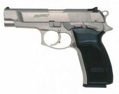 Bersa Thunder Nine (caliber 9x19mm Luger, Bersa Thunder 40 looks exactly the same). Argentina