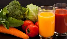 Vegetable juices for a juice cleanse