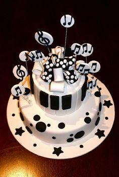Happy Birthday Tim Drum Cake