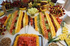 Masa de fructe, bar de fructe, fructe sculptate Bar, Creative