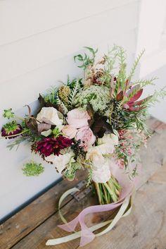 Rustic Fall Wedding Bouquet