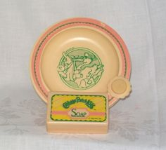 Vintage 1980s Toys: Cabbage Patch Kids. Bowl & Soap