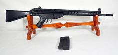 "Century Arms Cetme Sporter .308 Win 20"". The Century Arms Cetme Sporter is an HK91-style semi-auto rifle for .308 Winchester (7.62 NATO) round. Front peep sight. Rear adjustable apeture sight. Synthetic stock, 20"" barrel, 20 round mag, with compensator, 20 round mag. $798.00"