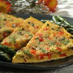 Easy Chili Garlic Omelet - This Chinese-style omelet recipe is compliments of cookbook author Ying Chang Compestine.