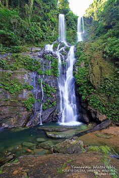Tamaraw Falls, Oriental Mindoro Philippines.