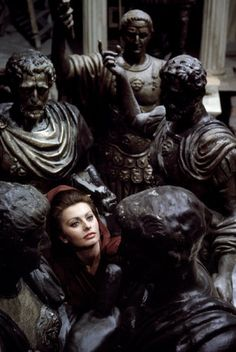 SPAIN—Sophia Loren during the filming of The Fall of the Roman Empire, 1963.  © Burt Glinn / Magnum Photos