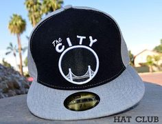 The Rail Golden State Warriors 59Fifty Fitted Cap by NEW ERA x NBA @ HAT CLUB