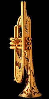 Monette Decorated Trumpet