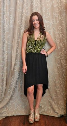 Jungle Envy dress  https://www.facebook.com/apricotlanezonarosa