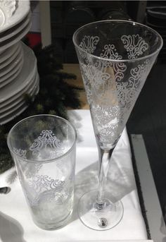 Holiday glassware at Ikea Holiday Dinnerware, Ikea, Tableware, Dinnerware, Ikea Co, Tablewares, Dishes, Place Settings