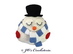Roger the African Flower Snowman pattern by JOs Crocheteria