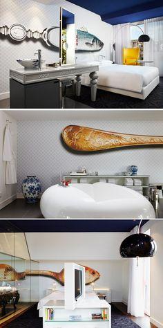 The Hotel Room of Andaz Amsterdam Prinsengracht - Amsterdam, Netherlands
