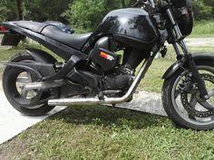 my new motorcycle. 500cc buell blast