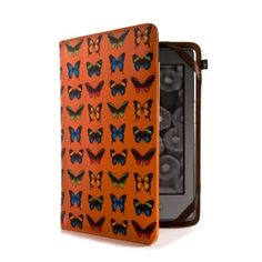 Proporta Kindle Paperwhite cover - Leather Style - 'Butterflies' by Proporta. $15.96. This Proporta Amazon Kindle Paperwhite cover – Leather Style Folio Case in 'Butterflies' is custom designed to fit the exact specifications of your Amazon Kindle Paperwhite. Handy cut outs allow access to all ports and controls meaning you can continue to use your Kindle Paperwhite while it's in its case. Your Amazon Kindle Touch is securely housed in the case for never-ending fun of read...