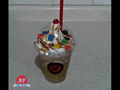 YouTube Frappuccino, Snack, Syrup, Pudding, Ice Cream, Drinks, Desserts, Food, Youtube