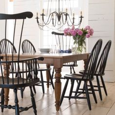 Gorgeous country dining room