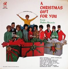 A Christmas Gift For You from Phillies Records (1963) Phil Spector's legendary LP with Darlene Love, Bob B. Soxx & The Blue Jeans, The Crystals & The Ronettes