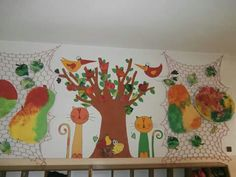 Podzim dekorace Projects For Kids, Art Projects, Crafts For Kids, Nursery, Drawings, Fall, Home Decor, Autumn, Child