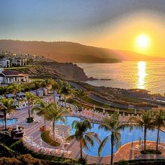 Terranea Resort along the Palos Verdes coastline in Southern California