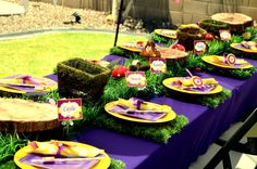 rapunzel, tangled Birthday Party Ideas | Photo 1 of 66 | Catch My Party