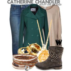 Inspired by Kristin Kreuk as Catherine Chandler on Beauty and the Beast - Shopping info!