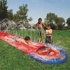 Disney Pixar's Cars Water Slide.  Kids love it.  #Disney #Cars