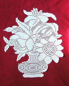 Home Decor Crochet Patterns Part 72 - Beautiful Crochet Patterns and Knitting Patterns Crochet Lace Edging, Crochet Flower Tutorial, Crochet Flowers, Weaving Patterns, Knitting Patterns, Crochet Patterns, Filet Crochet Charts, Crochet Diagram, Crochet Placemats