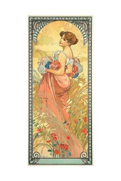 Alphonse Mucha, Photos and Prints at Art.com