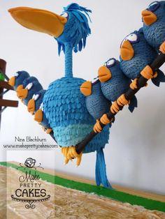 For the Birds Cake