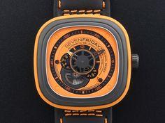 インダストリアルエッセンス オレンジ P1-3 - SEVENFRIDAY(セブンフライデー)