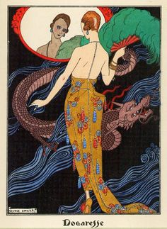 just for the record,Dogaresse is by Georges Barbier [pretty much adored @ t.o.t.c.=] and japonisme is a wonderful place indeed,should def.fe...