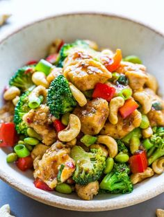 BETTER-THAN-TAKEOUT CASHEW CHICKEN