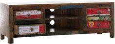 TV Sideboard DIPA aus massivem recyceltem Teakholz mit 4 Schubladen, 149 x 44 cm, Höhe 50 cm Jetzt bestellen unter: https://moebel.ladendirekt.de/wohnzimmer/tv-hifi-moebel/tv-lowboards/?uid=1a1fac2c-aa5e-568b-b04a-6b57281959c3&utm_source=pinterest&utm_medium=pin&utm_campaign=boards #tvlowboards #wohnzimmer #medienelektronik #tvhifimoebel