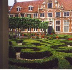 Haarlem, Netherlands; Franz Hals museum courtyard