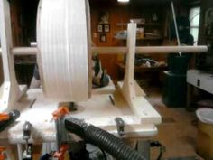 Turning a Stave Drum with a Router Jig