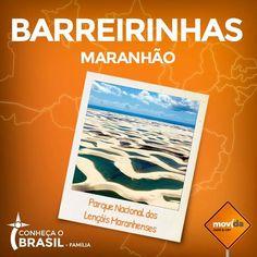 Maranhão conta com lindas dunas e lagoas azuis de água doce.  Alugue o carro na #MovidaRentACar e aproveite esse lugar que é uma das grandes maravilhas naturais do Brasil.