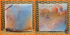 Acrylic spray painting fun | Glittering Muffins