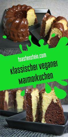 Vegan und lecker – Klassischer Marmorkuchen // www.toastenstein.com // vegan food blog