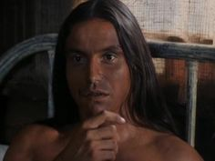 CHEYENNE WARRIOR (1994). Actor/director Pato Hoffmann.