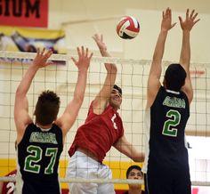 . Taft vs Granada Hills boys volleyball at Taft High School in Woodland Hill, CA. Wednesday, April 29, 2015. (Photo by Hans Gutknecht/Los Angeles Daily News)