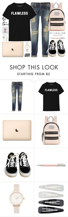 """""""Maravilloso Desastre"""" by alexandra-provenzano ❤ liked on Polyvore featuring R13, Marc Jacobs, Vans, Faber-Castell, Olivia Burton, Forever 21 and Paul Smith"""