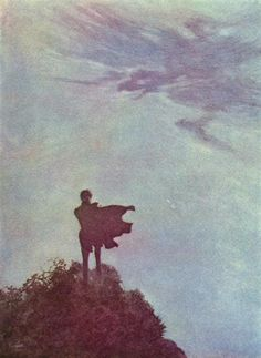 Alone - Edmund Dulac