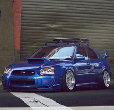 Subaru wrx sti rally