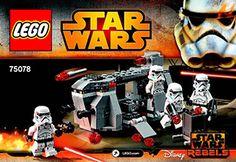 Imperial Troop Transport 75078 - LEGO Star Wars TM - Building Instructions…