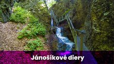Jánošíkové diery - Malý Rozsutec - 2018 - Vyletik.eu Waterfall, Country Roads, Outdoor, Self, Outdoors, Waterfalls, Outdoor Games, Outdoor Living
