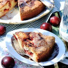 Recept på Plommonkaka med kanel från - Hemmets Journal