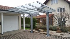 Carport Designs, Carports, Solar Roof, Pergola, Outdoor Structures, Modern, House, Roof Pitch, Driveway Entrance